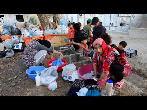 Lesbos : la catastrophe sanitaire du camp de Moria