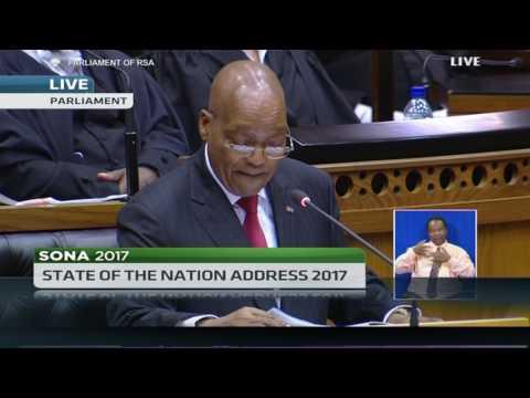 FULL SPEECH: S.A's President Jacob Zuma's SONA 2017