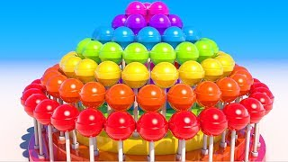 Lollipops for Kids and Children to Learn Colors