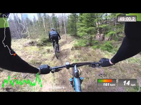 Dalsland XC 60km 2015 MTB XC Race - Full Video - Bengtfors (swe) 2/4 2015
