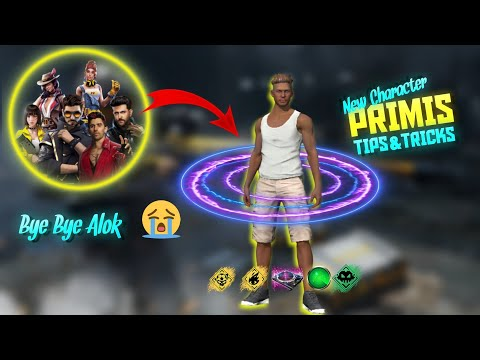 Primis Character Ability Test | Adam Character Tips And Tricks Free Fire Hindi|