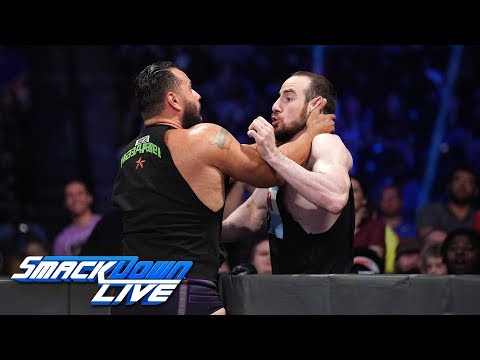 """Rusev & Lana foil Aiden English's screening of """"One Night In Milwaukee"""": SmackDown LIVE, Oct 9, 2018"""