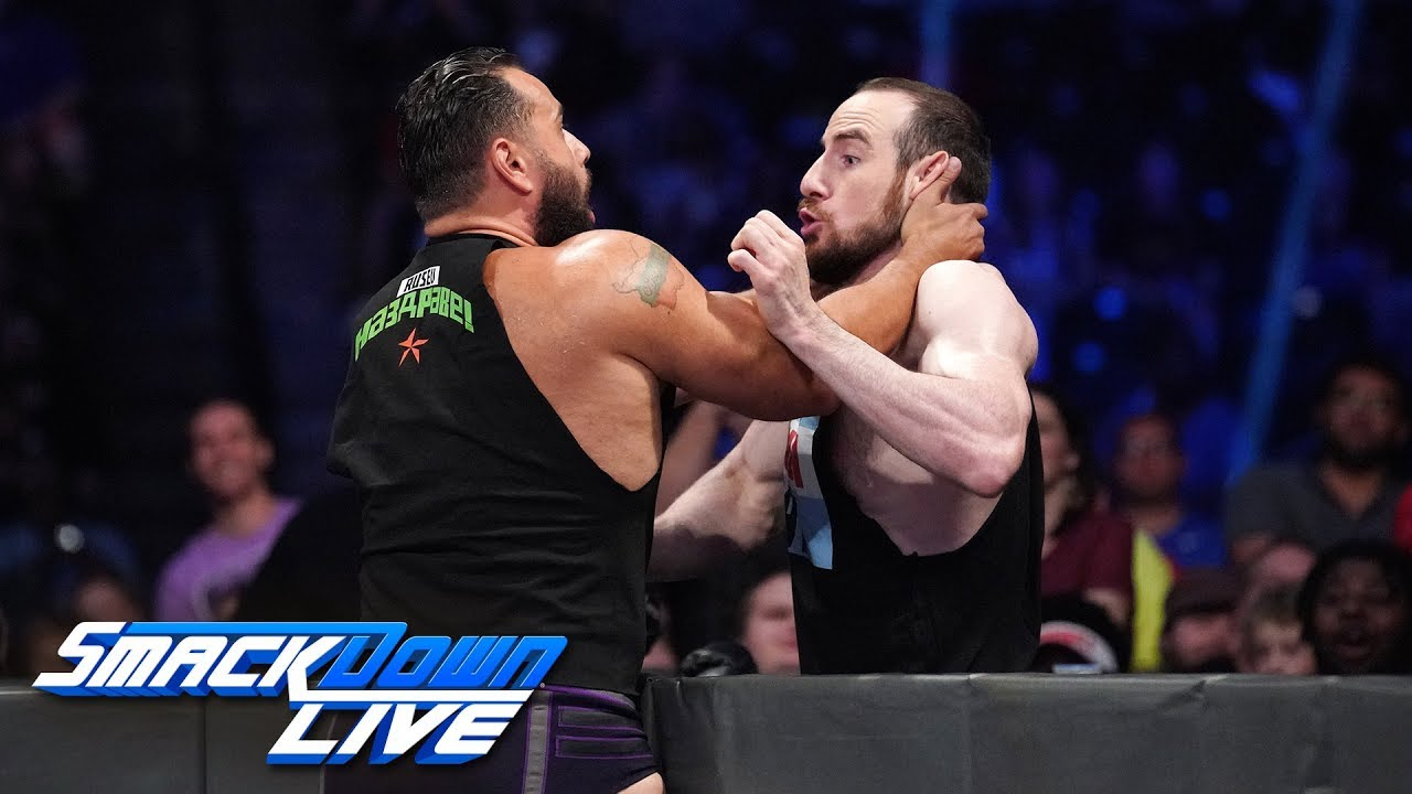 Rusev & Lana foil Aiden English's screening of