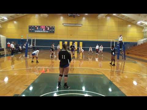 Cougar Volleyball vs Mendocino College 2a - 2018