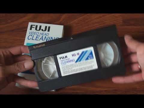 FUJI VIDEO HEAD CLEANING CASSETTE VCL-10P H VHS / SVHS FUJIFILM