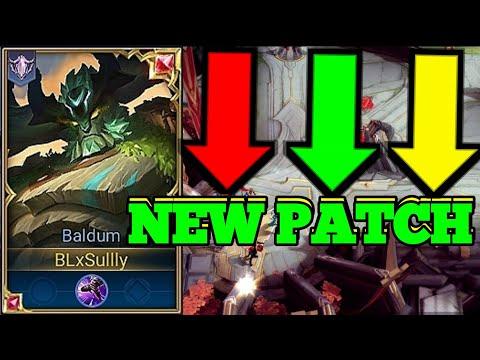 Baldum New Patch 2 | Smurf Ranked Gameplay | AoV | Arena of Valor | RoV | Liên Quân Mobile | 傳說對決