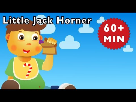Little Jack Horner and More | Nursery Rhymes from Mother Goose Club!