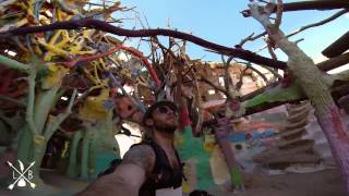 Salvation Mountain -- Leaving Nostalgia in the California Desert.