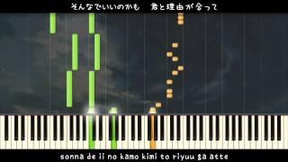 ピアノで練習のために、SynthesiaソフトでこのMIDIを使ってください。