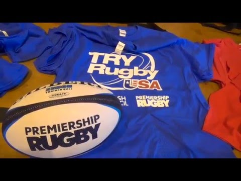 Sights from the Try Rugby USA Youth Clinic