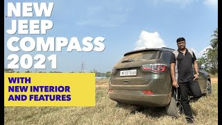 New Jeep Compass 2021 with all new Interior and most modern features | Review by Baiju N Nair