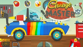 Garage Master Cars for kids toddlers 2020 Game Review 1080p Official Pizza Games Apps screenshot 5