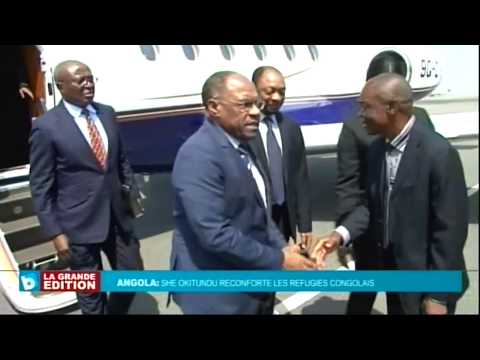 Plus de 30 Mille Congolais en Refuge en Angola, She OKITUNDU reçu par Georges REBELO PINTO,