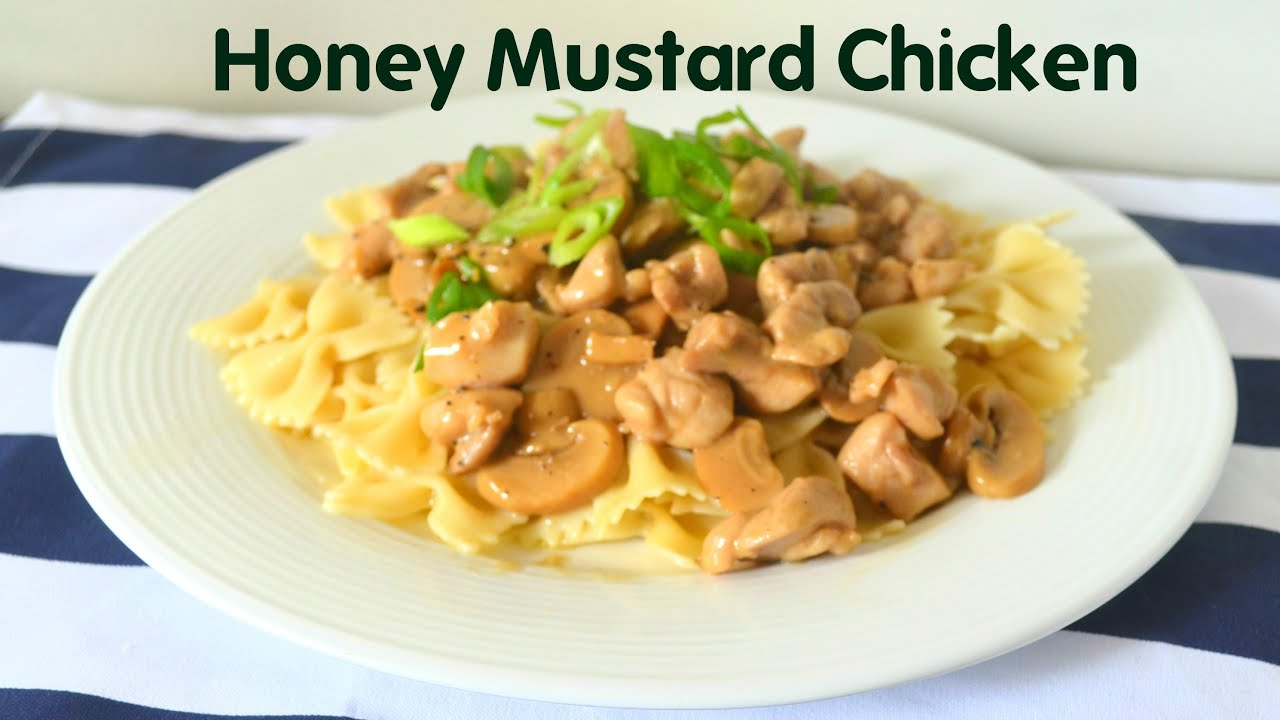 honey mustard pasta sauce