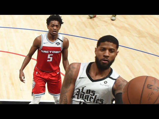 LA Clippers vs Sacramento Kings Full Game Highlights | January 30, 2019-20 NBA Season