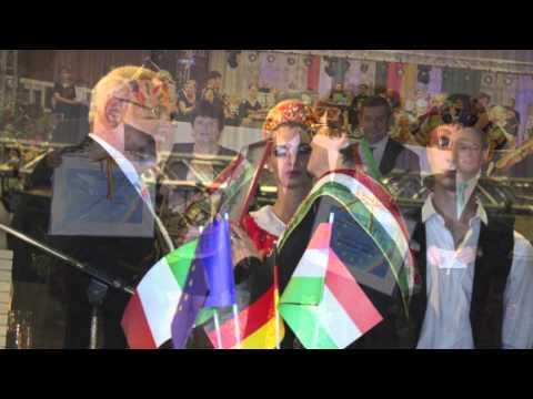 Jubiläumsfestakt anlässlich der 10-jährigen Partnerschaft zwischen Bietigheim, Kaposszekcsö, Saltara
