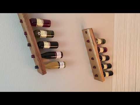 Diy Wine Rack Weinregal Flaschenhalter Selber Bauen Youtube