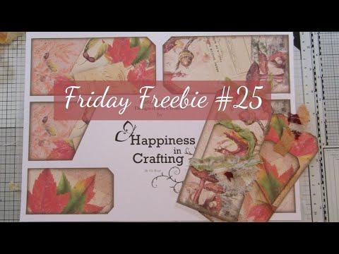 Friday Freebie #25