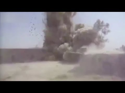 British soldier's close call with bomb in Afghanistan