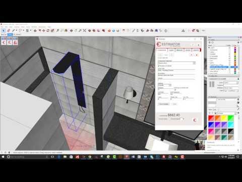 Modern Bath Remodel Estimating Tutorial