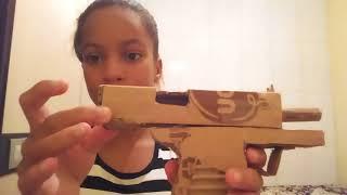 Minhas armas de papelão parte 3