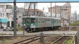 徳島線1200形 徳島駅到着 JR Shikoku Tokushima Line 1200 series DMU