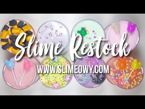 SLIME RESTOCK: TIGER, MICKEY, LUNA & MORE! April 28th