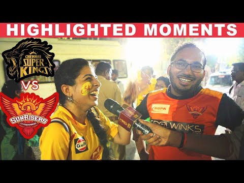 CSK fan Funny Troll on SRH Fan after Winning the match | Vivo IPL