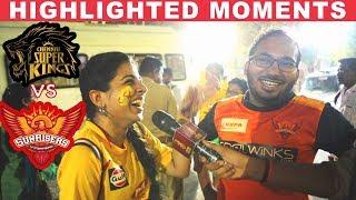 CSK fan Funny Troll on SRH Fan after Winning the match   Vivo IPL