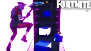 GEOMETRY PARKOUR in Fortnite Creative (Codes in Comments) Parkour Obstacle Course!