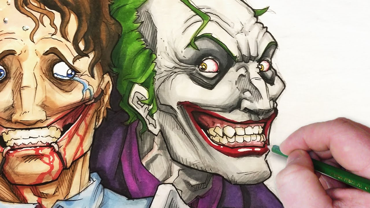 Let S Draw The Joker Don T Worry Be Happy Youtube