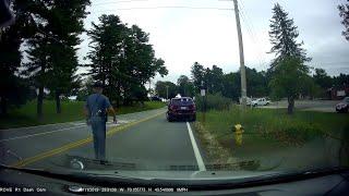 Road Karma Observed by Motorist in Maine || ViralHog