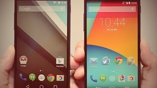 Android Lollipop (5.0) Vs. Kitkat (4.4.4)