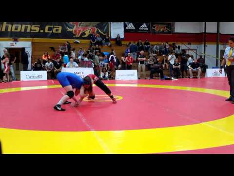 2015 Canada Cup: 60 kg Final Krystal Adair (CAN) vs. Krystin Paquette (CAN)