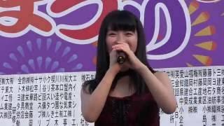 7月16日、「ふじおかおいでん夏まつり(藤岡コミュニティ広場)」での、...