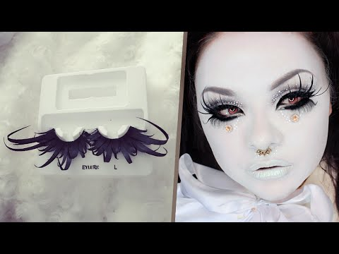 DIY DRAMATIC False Lashes! Customize False Lashes Using Paper  ♫ .•★