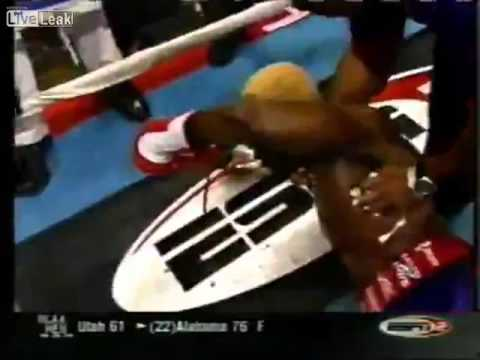 Boxer Knocked Out After Decision