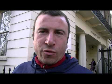 Jason Moyer-Lee speaks at University of London Protest 27/01/2014 Pt 2