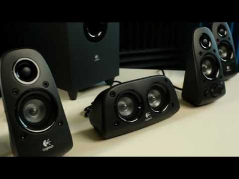 Logitech Surround Sound Speakers Z506 - YouTube