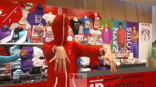 One Direction's 1D World Store Sneak Preview In New York