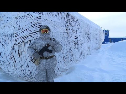Russia's glossy Arctic army base on guard for enemies and bears