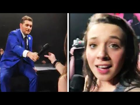 Robin Rock - Michael Buble was blown away by this fan's voice