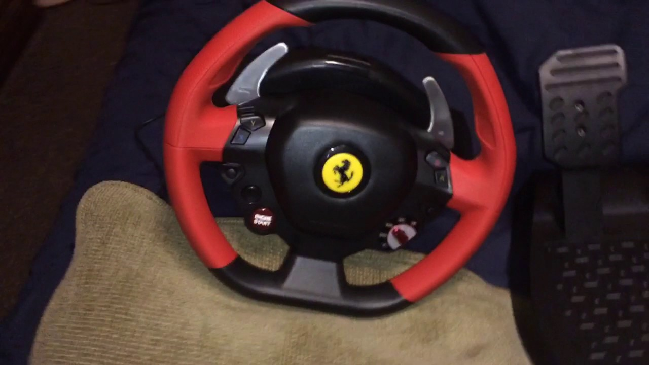 Thrustmaster Ferrari 458 Spider Racing Wheel Review