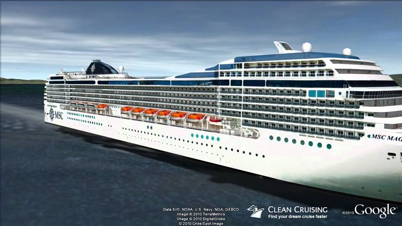 MSC Magnifica Virtual Ship Tour - YouTube