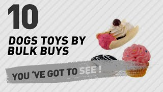 Dogs Toys By Bulk Buys // Pets Lovers Most Popular