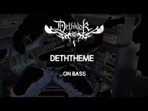 Dethklok -  Deththeme (Bass Cover)