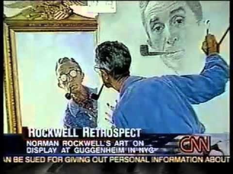 "CNN: interview with ""Norman Rockwell"" author Laura Claridge"