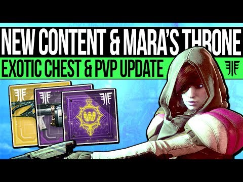 Destiny 2 | NIGHTMARE CITY & QUEEN'S THRONE! Exotic Chest, New Content, PvP Update & New Quest!