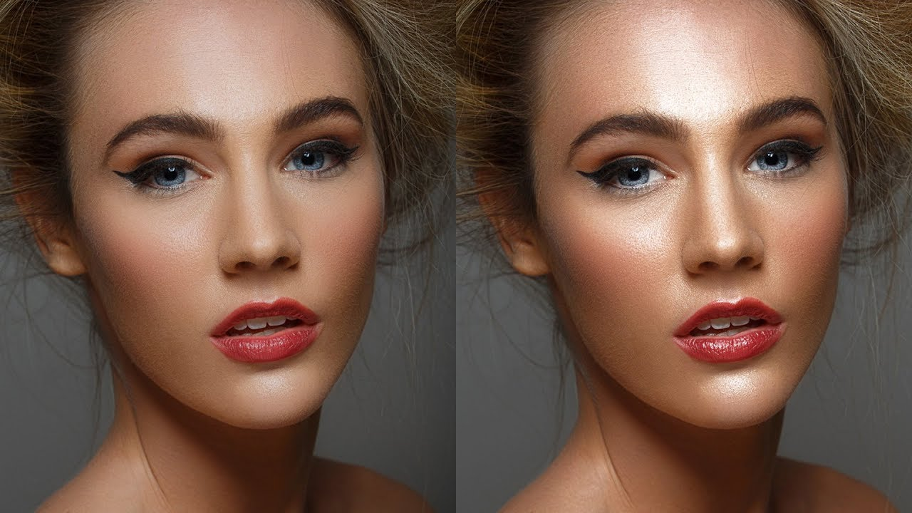 Perfect skin in Photoshop - easy and fast