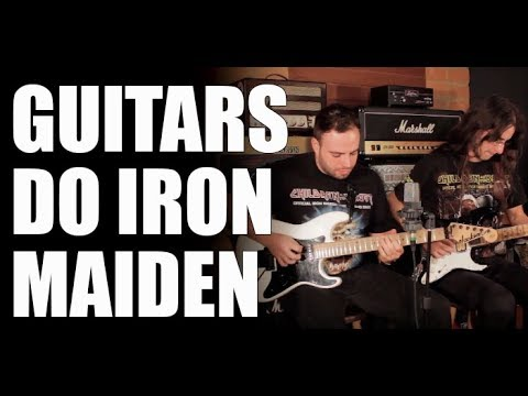 how to get iron maiden guitar sound